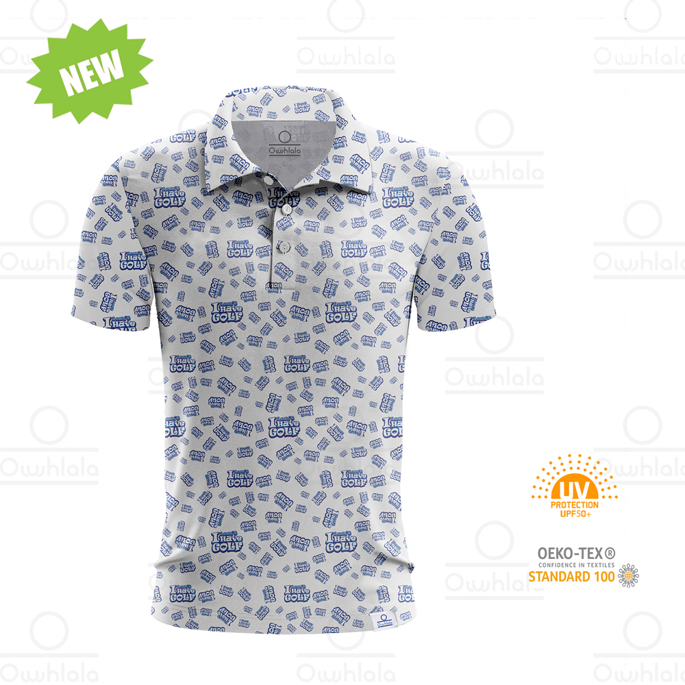 Short sleeve Full Colors Men Golf Polo