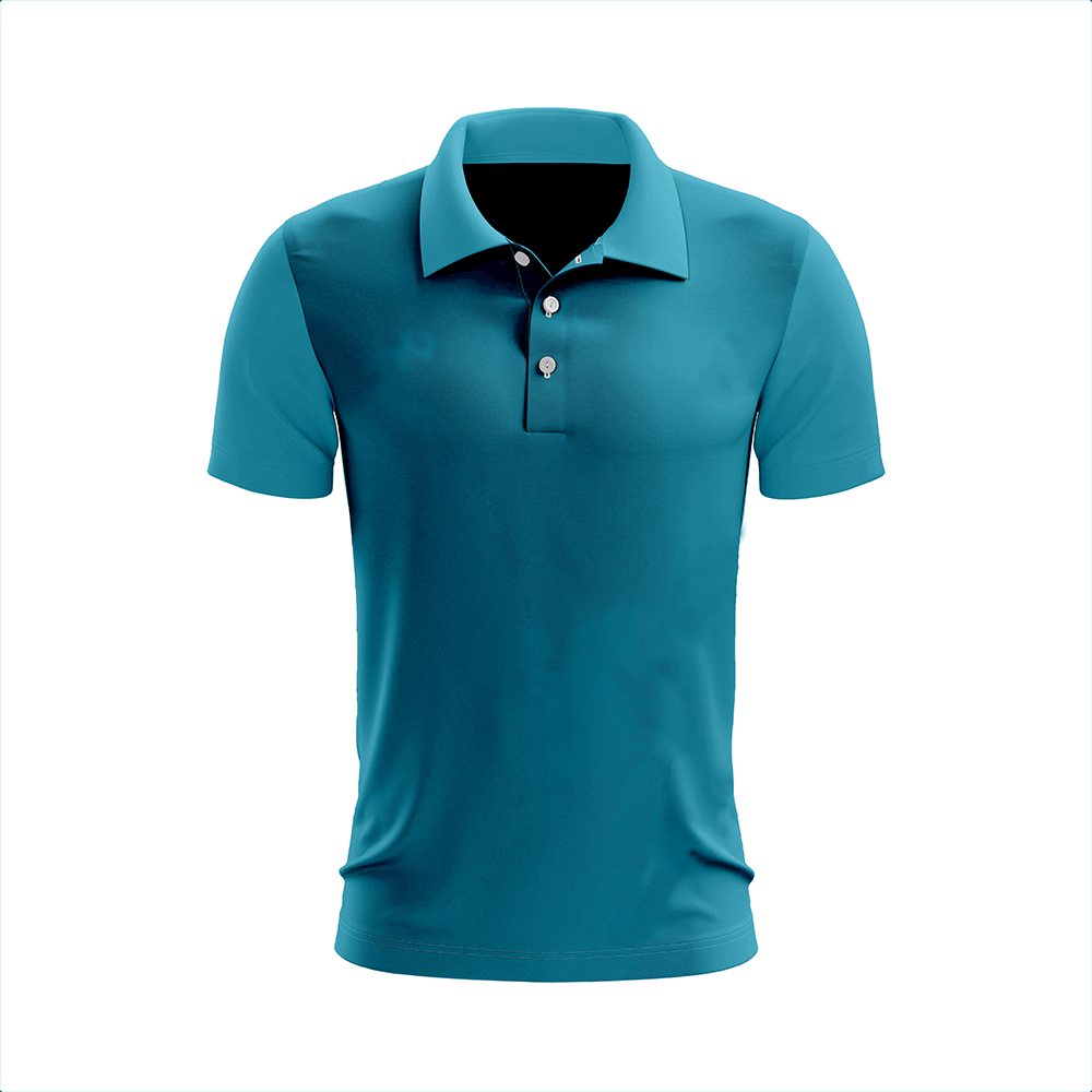 Polo 87% Polyester 13% Spandex Logo embroidered