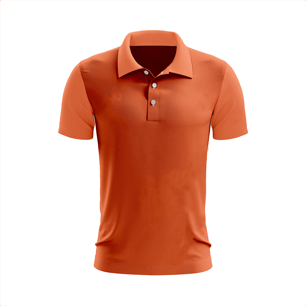 Polo 82% Polyester 18% Spandex Logo embroidered