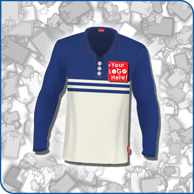 Polo Long Sleeves Design 2