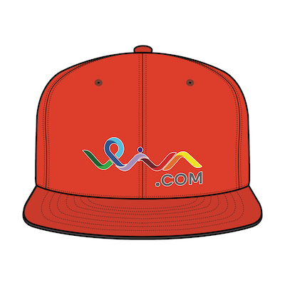 Heavy Brushed Cotton (Solid Colors) Flat Peak Snap Back with 1D or 3D logo embroidery